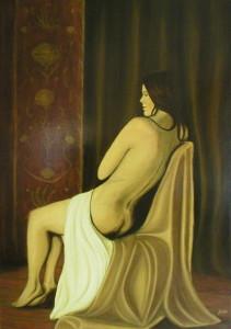 Boudoir, 90 x 60 cm