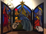 Drieluik Kerststal